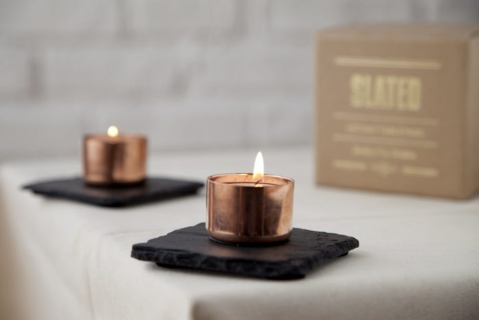 copper candle holder, copper candle. Irish Gift, Irish Gifts, corporate gifts Ireland, personalised gifts,