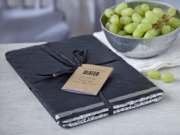 silver leaf placemats, table mats, place mats, Irish Design, Slated.ie